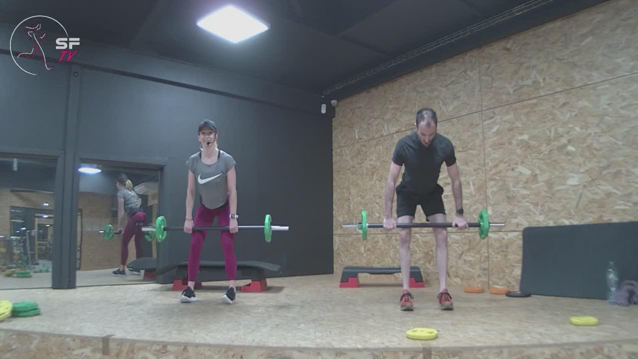 Body pump avec Nico et Marianne 29-12-2020