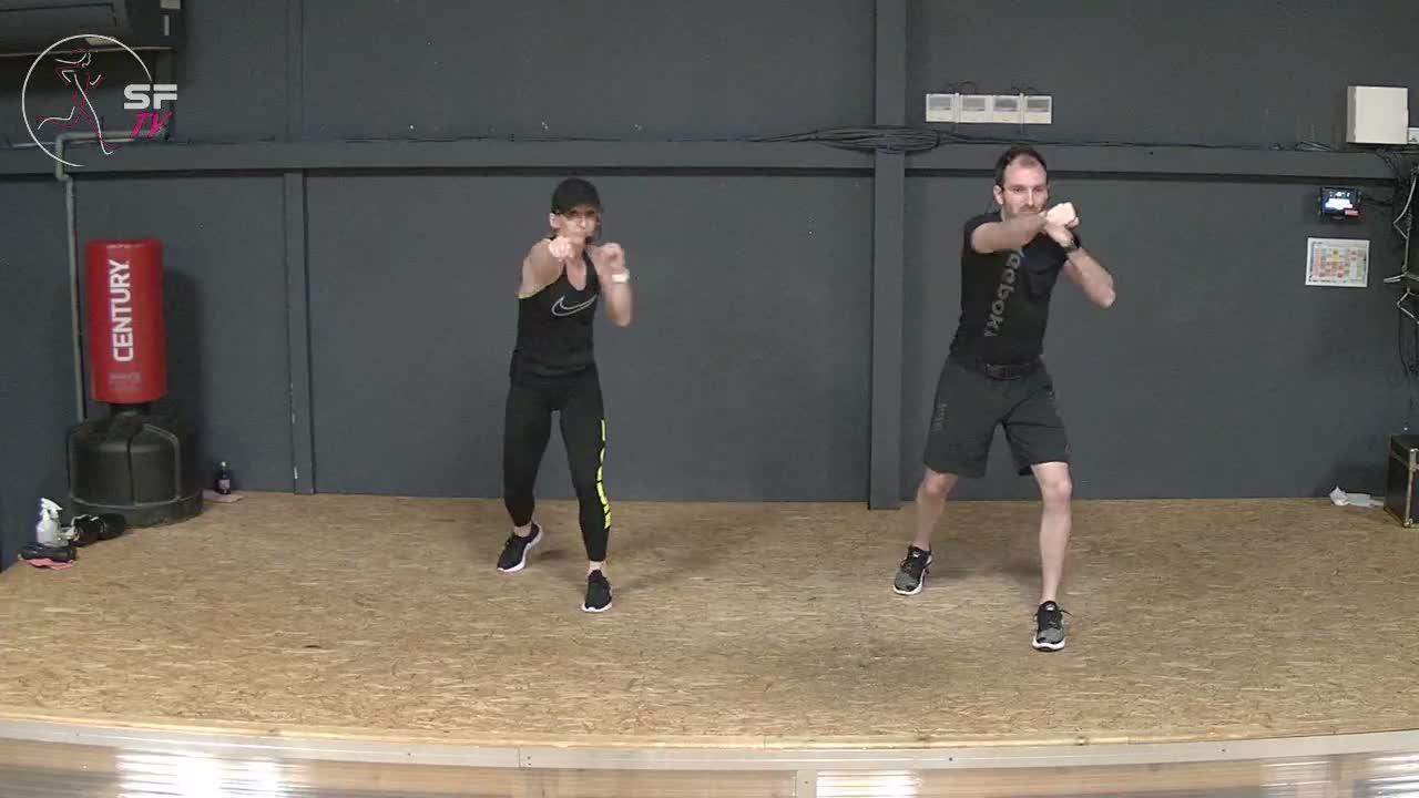 Body Combat  Marianne  et Nico 08-01-2021