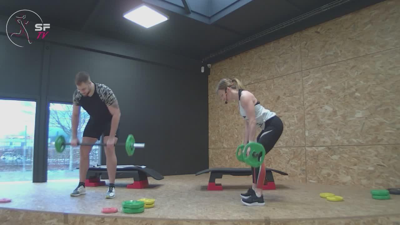 Body Pump 103 biceps et triceps  avec Marianne et Tony 09-01-2021