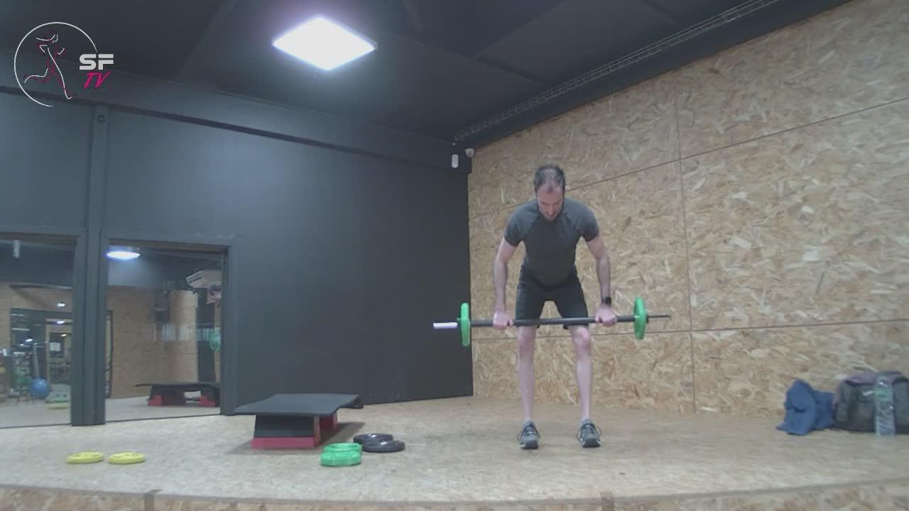 Body pump avec Nico  19-01-2021