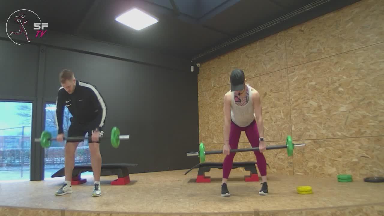 Body  pump avec Marianne et Tony  format 1h23-01-2021