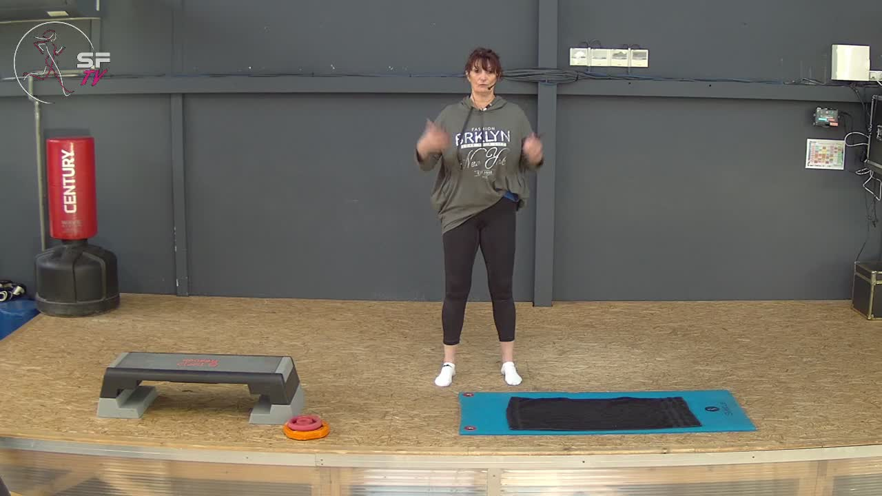 Pilates avec Agnes  25-01-2021