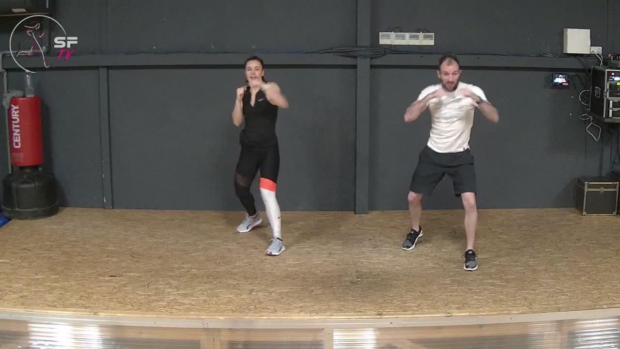 Body combat 85 avec Nico Marianne et Helena 05-02-2021