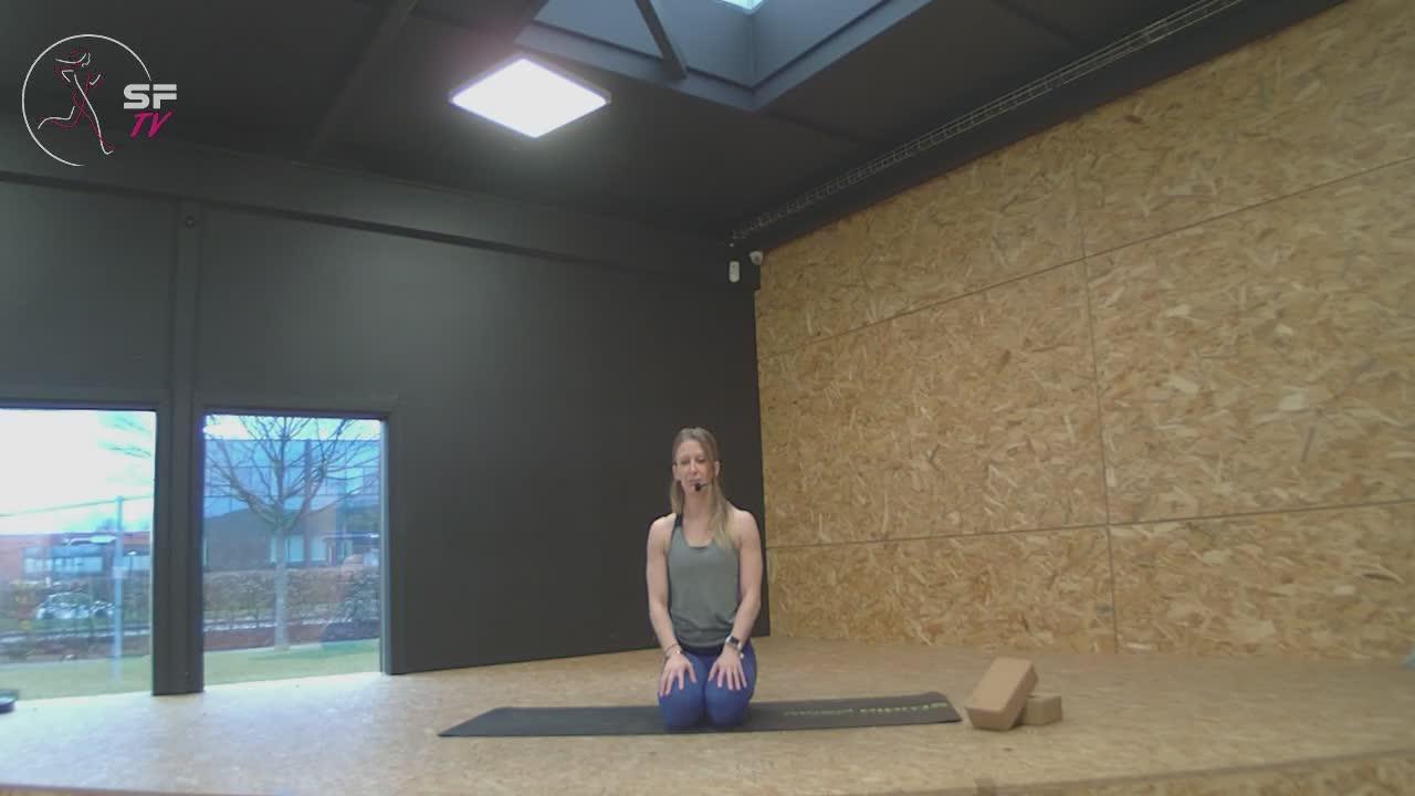 Yoga avec Marianne  ( étirements )07-02-2021