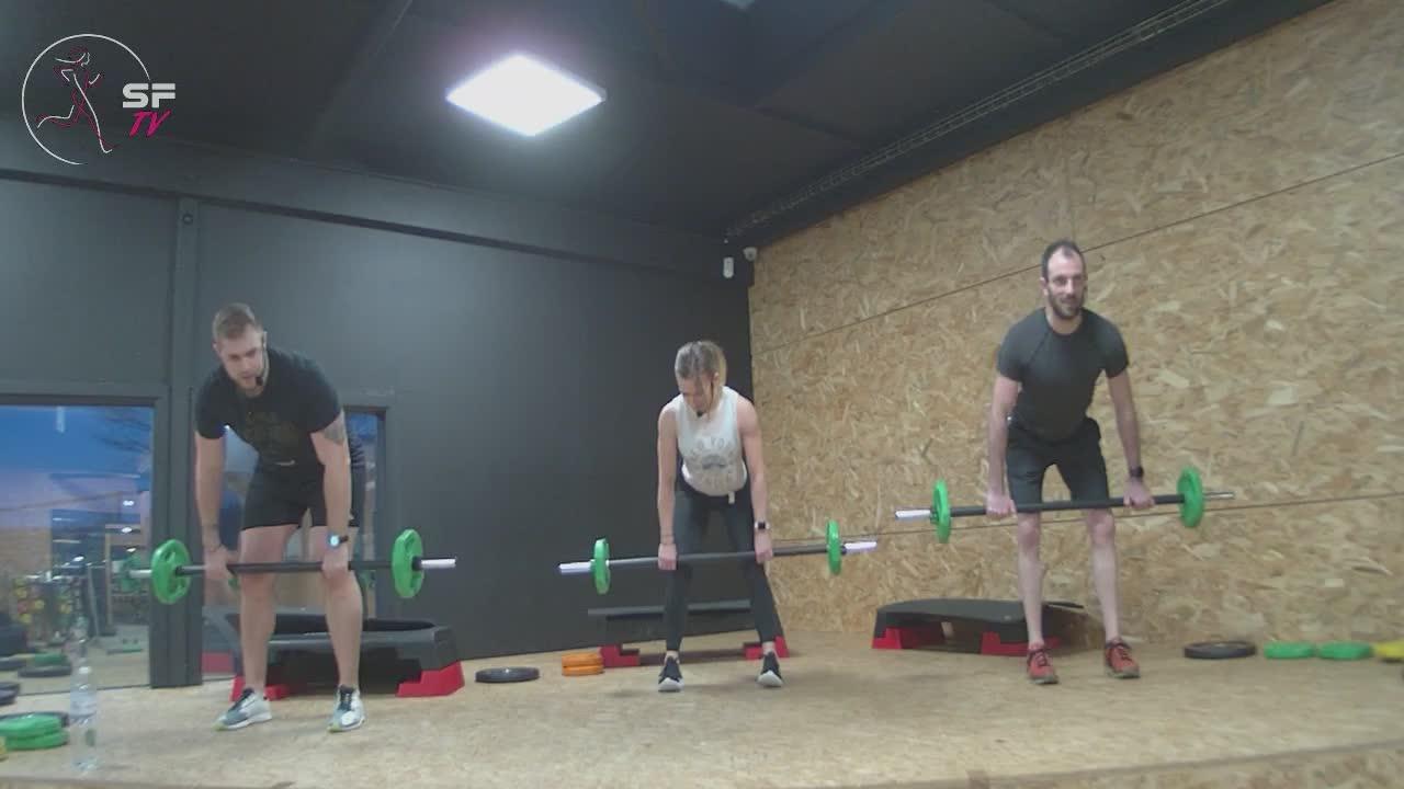 Body pump avec Marianne Nico et Tony 09-02-2021