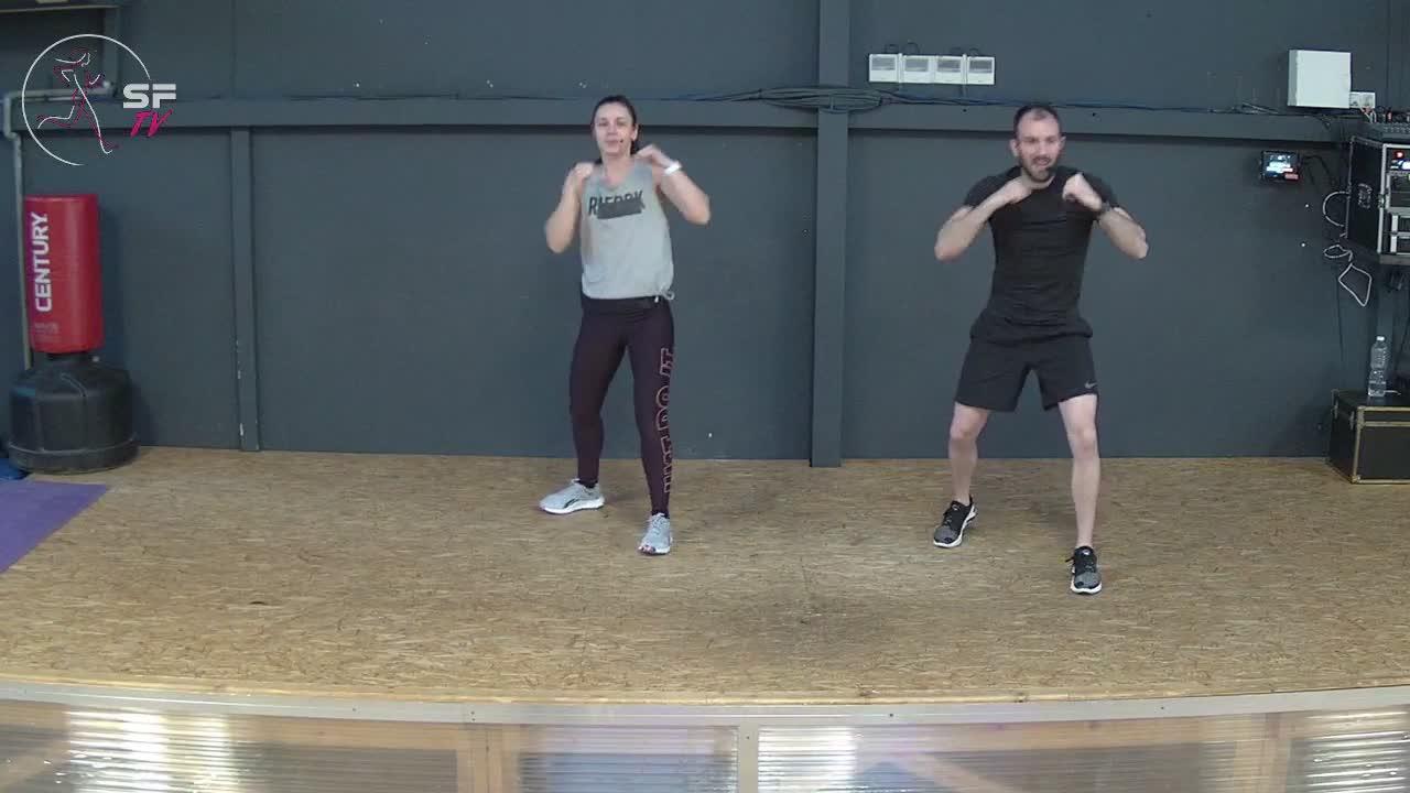 Body combat avec  Nico et Hélèna 12-02-2021