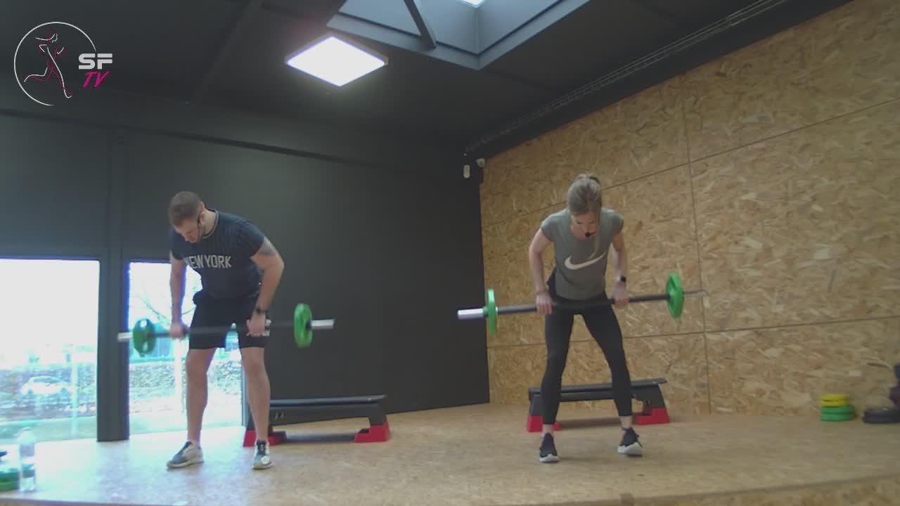 Body pump avec Marianne et Tony 13-02-2021