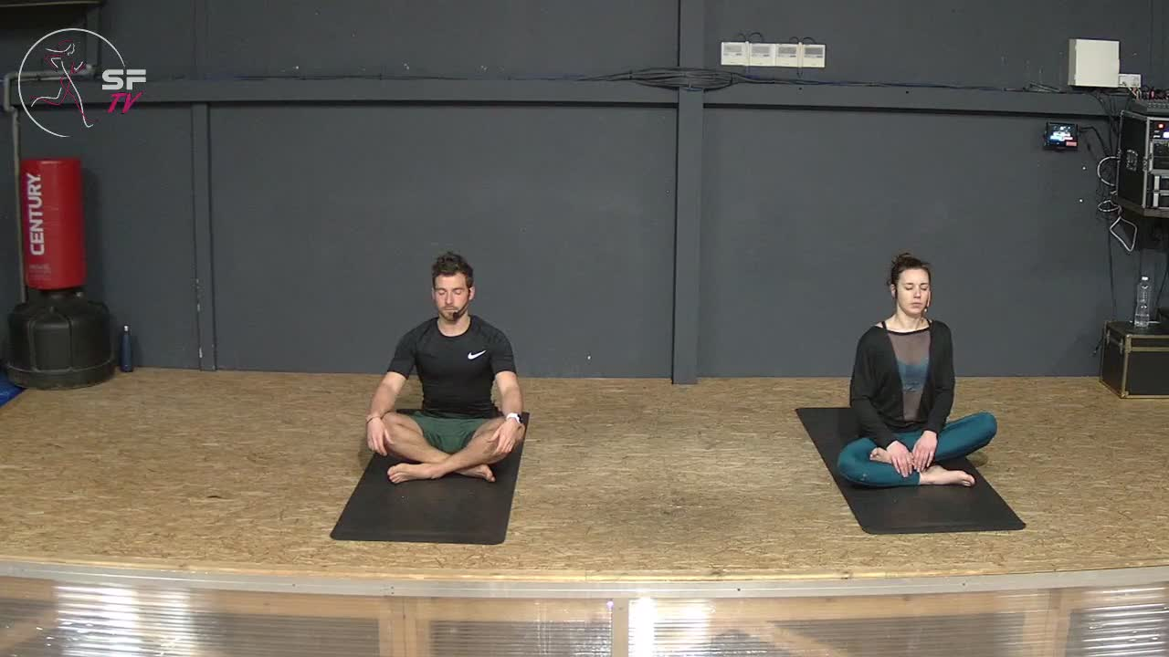 Yoga avec Héléna et Rémi  15-02-2021