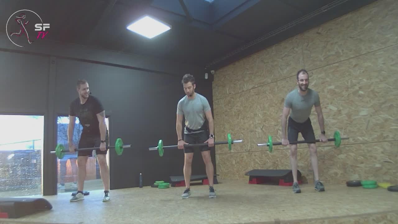 Body  pump avec Nico Rémi et Tony 16-02-2021