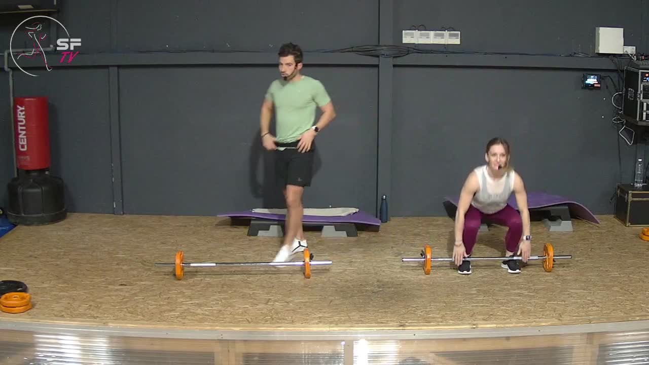 Body pump avec Marianne  et Rémi 18-02-2021
