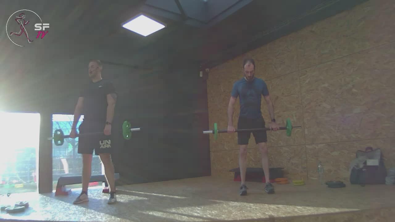 Body pump avec Nico et Tony 09-03-2021