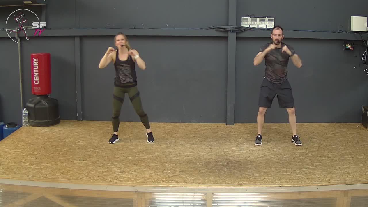 Body combat avec Marianne et Nico 16-04-2021