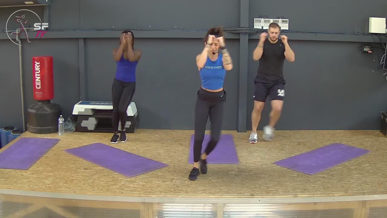 Fitness battle avec Emilie Tony et Gisèle  20-04-2021