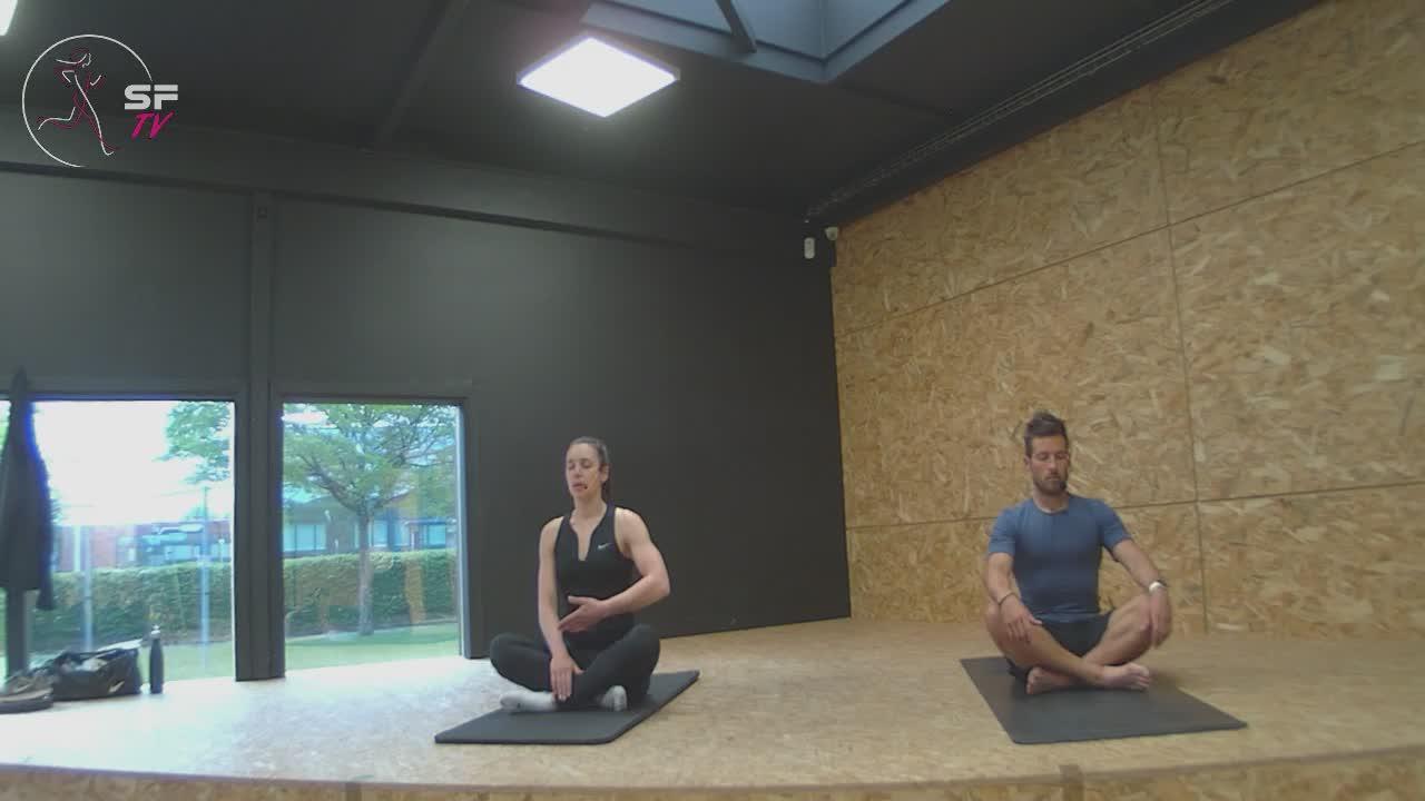 Yoga avec Remi  et Helena  06-05-2021