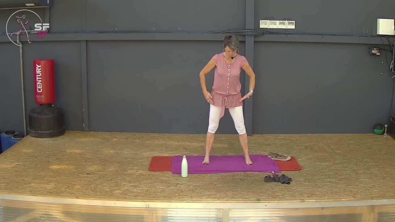 stretch avec Brigitte  31-05-2021
