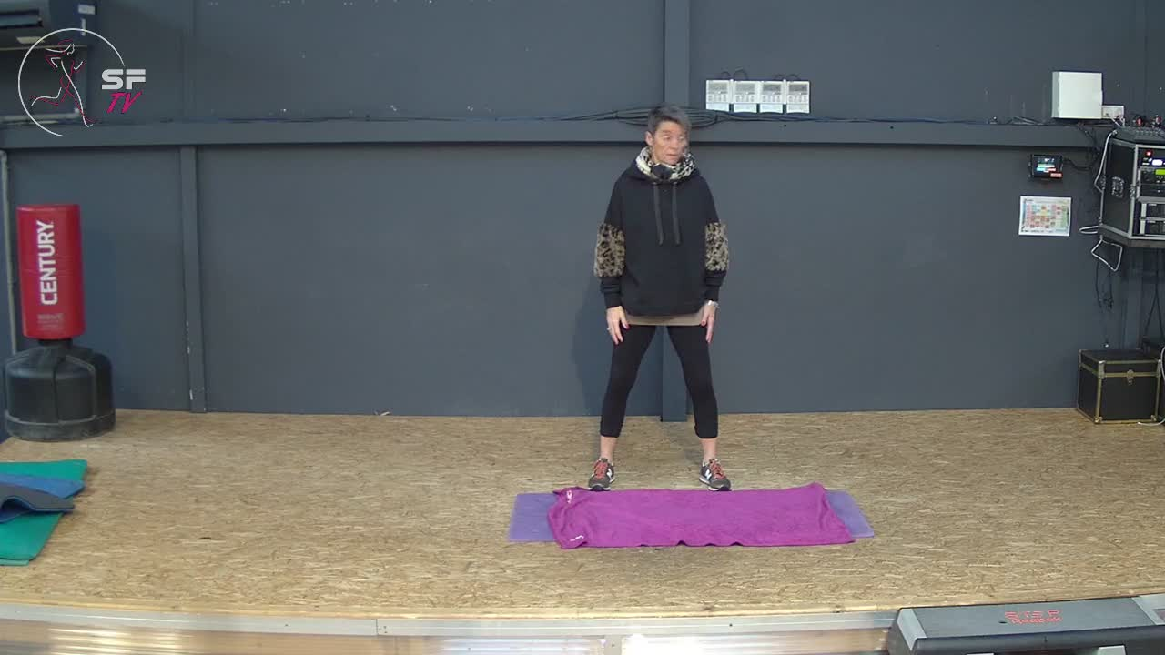 Stretching  avec Brigitte 02-12-2020