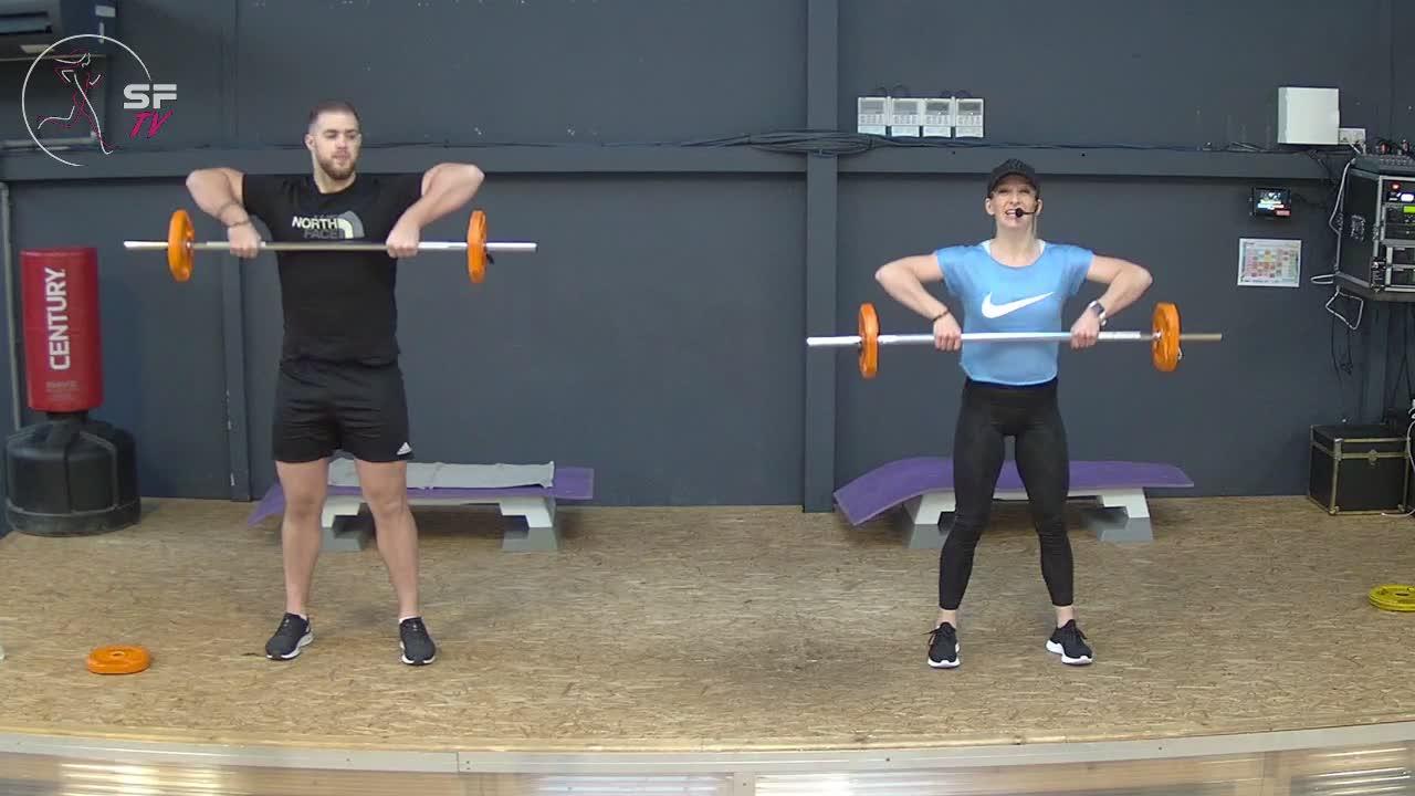 Body pump  édition 104 Triceps biceps avec Marianne et Tony05-12-2020