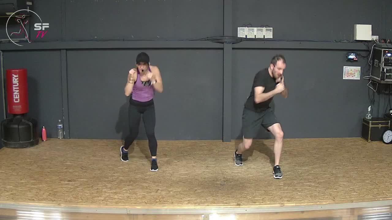 Body combat avec Nico et Marianne 18-12-2020